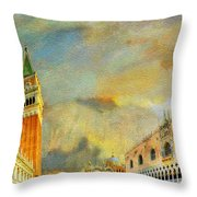 Italy 03 Throw Pillow by Catf