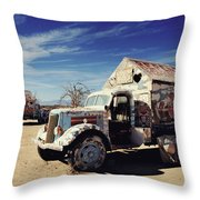 It's All About Love Throw Pillow by Laurie Search