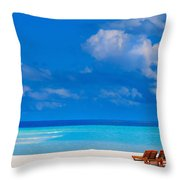 Its That Simple Throw Pillow by Jenny Rainbow