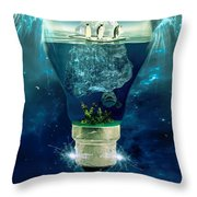 It's the End of the World as We Know It Throw Pillow by Erik Brede