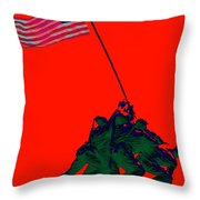 Iwo Jima 20130210p65 Throw Pillow by Wingsdomain Art and Photography
