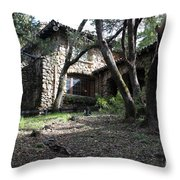 Jack London House of Happy Walls 5D21962 Throw Pillow by Wingsdomain Art and Photography