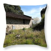 Jack London Ranch Distillery 5d22182 Throw Pillow by Wingsdomain Art and Photography
