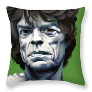 Jagger Throw Pillow by Kelly Jade King