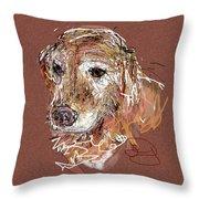 Jake Boy Throw Pillow by Joyce Goldin