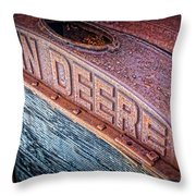 Jd Grille Throw Pillow by Inge Johnsson