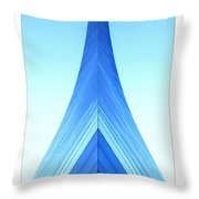 Jefferson National Expansion Memorial II Throw Pillow by Mike McGlothlen