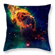 Jet In Carina Throw Pillow by Amanda Struz