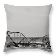 Jet Star  Throw Pillow by Terry DeLuco