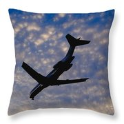 Jet Take Off Throw Pillow by Will and Deni McIntyre