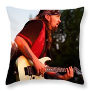 Jimmy Dence - The Fabulous Kingpins Throw Pillow by David Patterson