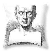 Johann Kaspar Spurzheim Throw Pillow by Granger