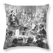 John Maskelyne Throw Pillow by Granger