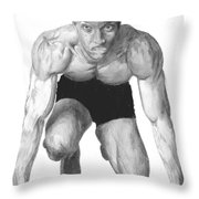 Johnson Throw Pillow by Tamir Barkan