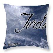 Jordan - Wise In Judgement Throw Pillow by Christopher Gaston
