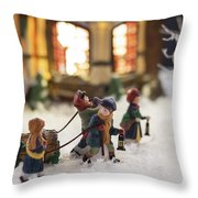 Journey Home Throw Pillow by Caitlyn  Grasso