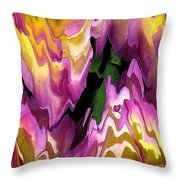 Jowey Gipsy Abstract Throw Pillow by J McCombie