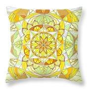 Joy Throw Pillow by Teal Eye  Print Store