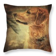 Judy Throw Pillow by Taylan Soyturk