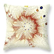 Juggle Throw Pillow by Anastasiya Malakhova