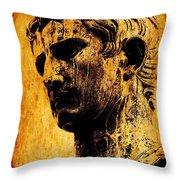 Julius Caesar  Throw Pillow by Mike Grubb