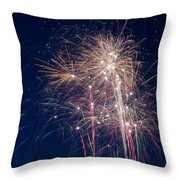 July 4th 2014 28 Throw Pillow by Chad Rowe