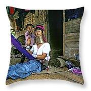 Jungle Crafts Throw Pillow by Steve Harrington