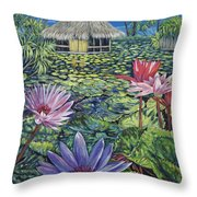 Just A Dream Throw Pillow by Danielle  Perry