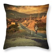 Just A Dream Throw Pillow by Taylan Apukovska