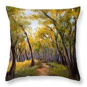 Just before Autumn Throw Pillow by Susan Jenkins