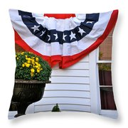 Just Off Commercial Throw Pillow by Ira Shander