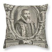 Justus Lipsius, Belgian Scholar Throw Pillow by Photo Researchers