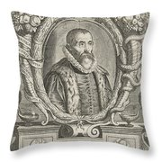Justus Lipsius, Belgian Scholar Throw Pillow by Photo Researchers