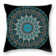 Kaleidoscope Steampunk Series Throw Pillow by Amy Cicconi