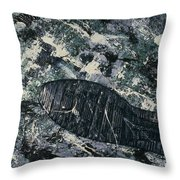 Katherines Soul Throw Pillow by Feile Case