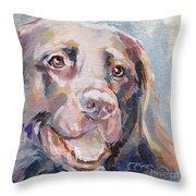 Kayla Throw Pillow by Kimberly Santini