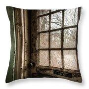 Keep Door Locked Throw Pillow by Gary Heller