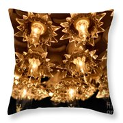 Keep Shining Throw Pillow by Rory Sagner