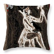 Keeper of the Crow Love Never Dies Throw Pillow by Tisha McGee