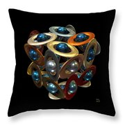 Kepler's Dream Throw Pillow by Manny Lorenzo