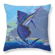 Key Sail Off0040 Throw Pillow by Carey Chen
