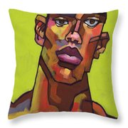 Killer Joe Throw Pillow by Douglas Simonson