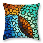 Kindred Spirits Throw Pillow by Sharon Cummings
