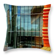 Knight And Day Throw Pillow by Randall Weidner