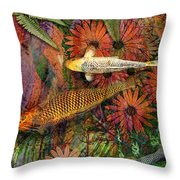 Kona Kurry Throw Pillow by Christopher Beikmann