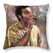 Kramer Throw Pillow by Ylli Haruni