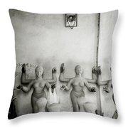 Kumortuli Throw Pillow by Shaun Higson