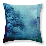 L Arbre De Vie - 99bt03 Throw Pillow by Variance Collections