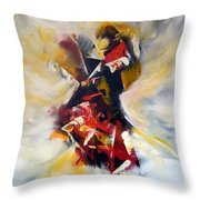 La Cle Des Songes Throw Pillow by Isabelle Vobmann