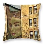 Lady Of The House Throw Pillow by Sarah Loft